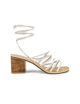 Cross Sandal by Raye