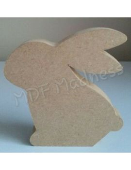 Mdf Craft Shape. Wooden Rabbit. Easter by Ebay Seller