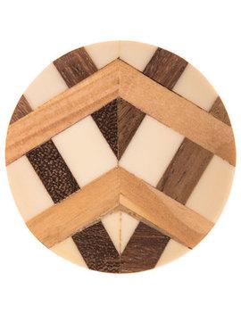 Inlay Round Wood Knob by Hobby Lobby