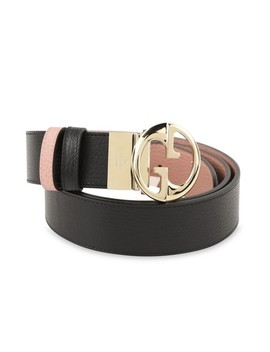 Black Gg Reversible Belt by Gucci