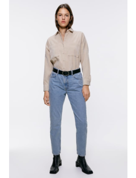 Corduroy Shirt With Pockets New Inwoman by Zara