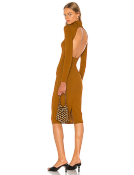 Jovi Dress In Rust by Lpa