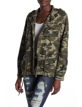 Camo Print Utility Jacket by Vigoss