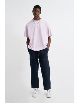 Uo Indigo Denim Carpenter Pj Pants by Urban Outfitters