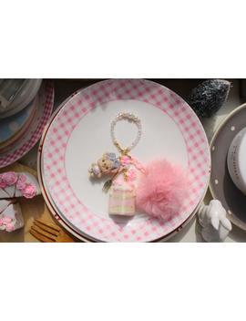 Daisy Bear's Blossom Buttercream Cake   Key Chain Bag Charm by Etsy
