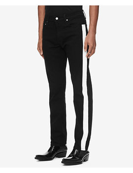 Men's Slim Fit Side Stripe Jeans, Created For Macy's by General