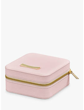 Ted Baker Zipped Jewellery Case, Pink by Ted Baker
