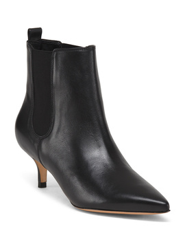 Made In Brazil Leather Pointy Toe Booties by Tj Maxx