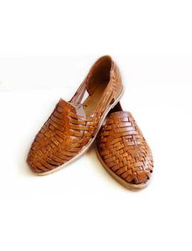 Mexican Huaraches Sandals Tan by Etsy