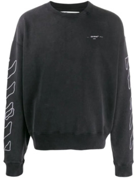 Scribble Arrows Sweatshirt by Off White