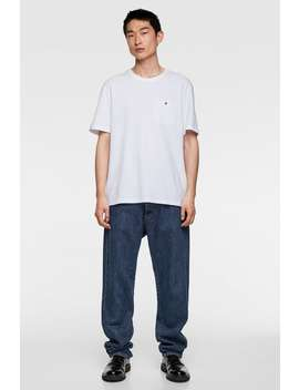 Pocket T  Shirt Basics T Shirts Man by Zara
