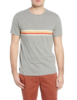Allday Regular Fit Placed Stripe T Shirt by Madewell