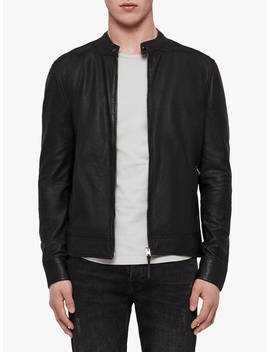 All Saints Colt Suede Jacket, Black by Allsaints