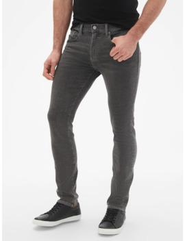 Wearlight Skinny Fit Jeans With Gap Flex by Gap