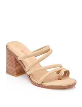 Pascale Strappy Mule Heel by Sportsgirl