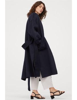 Пальто из смесовой шерсти by H&M