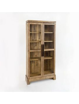 Emmerson® Reclaimed Wood Display Cabinet by West Elm