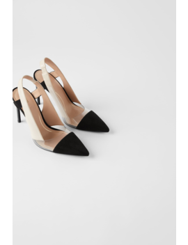 Vinyl Slingback Shoes Highheels Shoes Woman by Zara