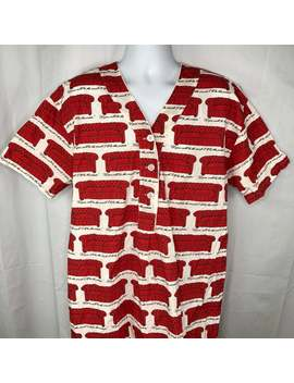 Vintage Joe Boxer Girlfriend Couch Potato Lets Do Sleep Ladies Nightshirt M/L Usa Made Sleepshirt P Js Gown 1990s by Etsy