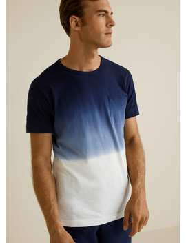 Pocket Tie Dye T Shirt by Mango