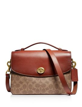 Cassie Signature Coated Canvas Crossbody by Coach