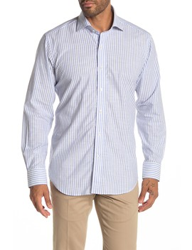 Summer Chambray Stripe Shirt by Peter Millar