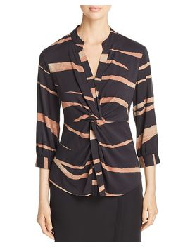 Abstract Animal Top by Nic And Zoe