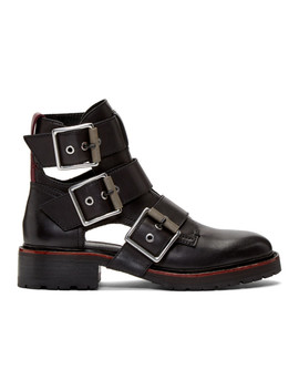 Black Cannon Buckel Ii Boots by Rag & Bone