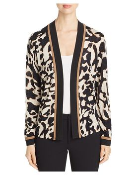 Leader Of The Pack Open Cardigan by Nic And Zoe