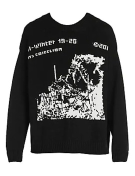 Ruined Factory Knit Sweater by Off White
