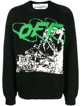 'ruined Factory' Intarsien Pullover by Off White