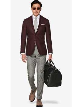 Havana Burgundy Jacket by Suitsupply