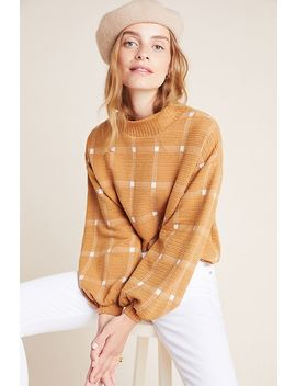 Bonnie Balloon Sleeved Pullover by Anthropologie