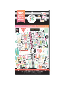Create 365™ The Happy Planner™ Productivity Value Pack Stickers by Me & My Big Ideas