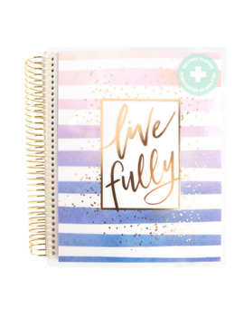 Creative Year Medium Live Fully Wellness Spiral Planner By Recollections™ by Recollections
