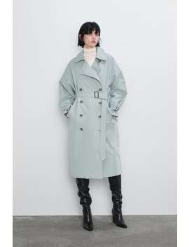 Trench Coat With Belt Trench Coats Coats Woman by Zara