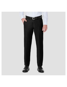 Haggar H26® Straight Fit 4 Way Stretch Trouser Pants by Haggar H26