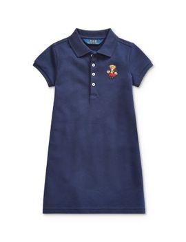 Girls' School Bear Polo Dress   Little Kid by Polo Ralph Lauren
