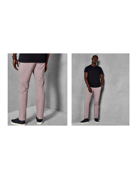 Chinos De Algodón Slim Fit by Ted Baker
