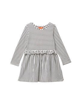 Striped Peplum Dress (Toddler & Little Girls) by Joe Fresh