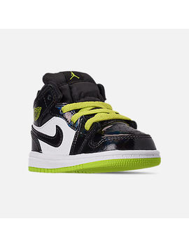 Boys' Toddler Air Jordan 1 Mid Se Casual Shoes by Nike