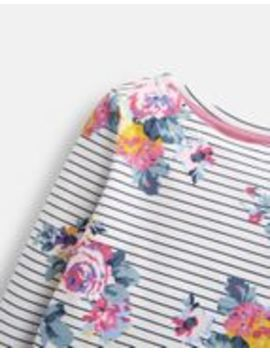 Harbour Print Jersey Top 3 12 Years by Joules