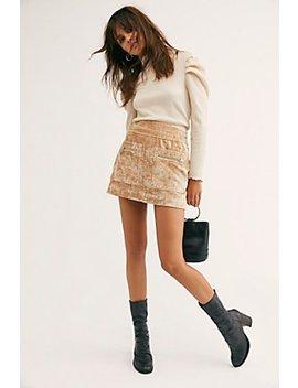 Dust To Dust Velvet Skirt by Free People