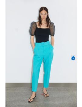 Belted Pants Basicswoman by Zara