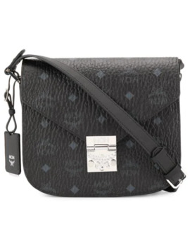 Monogram Shoulder Bag by Mcm