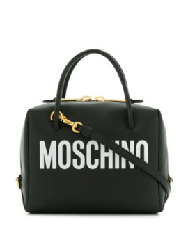 Small Logo Print Crossbody Bag by Moschino