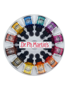 Dr. Ph. Martin's® Bombay India Ink Set 2, 1 Oz. by Null