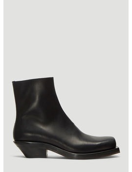 Number 5 Boots In Black by Ion