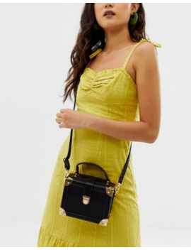 Asos Design Vanity Boxy Bag With Detachable Cross Body Strap by Asos Design