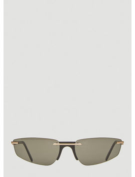 Ophelia Sunglasses In Black by Andy Wolf